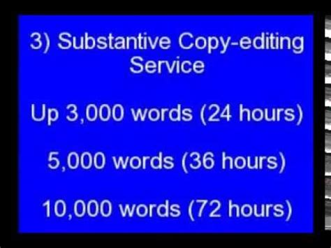Professional Editing, Writing & Proofreading Service - The