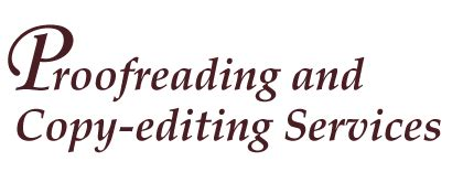 Thesis copy editing services